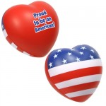 Patriotic Heart Stress Reliever
